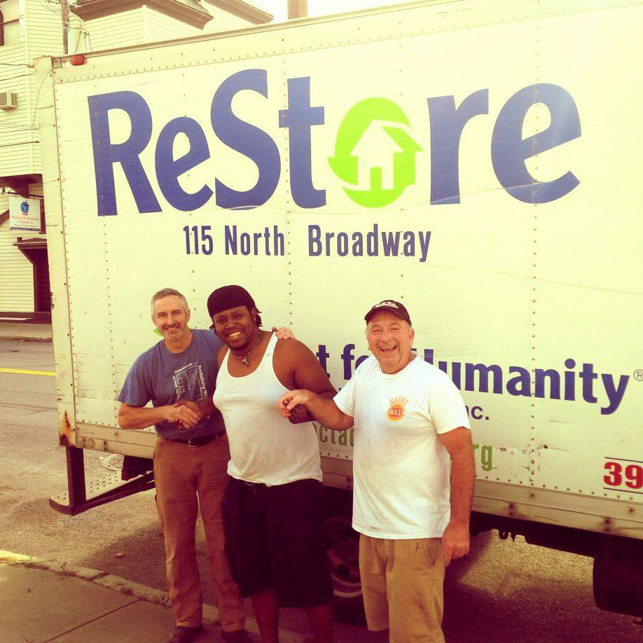 home restore outside the habitat restore in schenectady