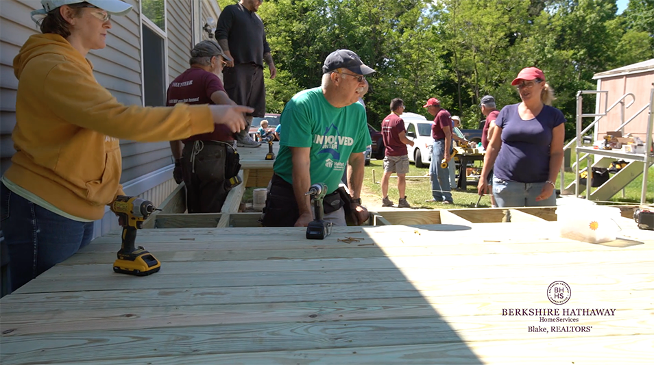 June 2019 Habitat for Humanity build in Duanesburg, NY