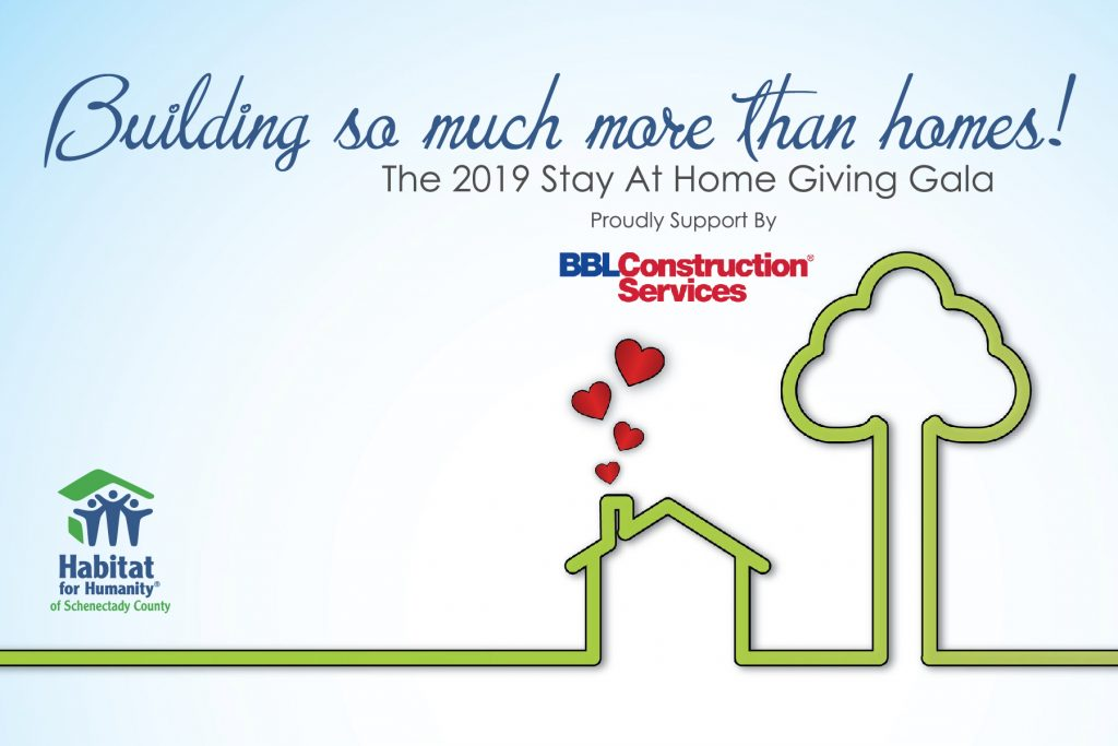 building so much more than homes, giving gala graphic